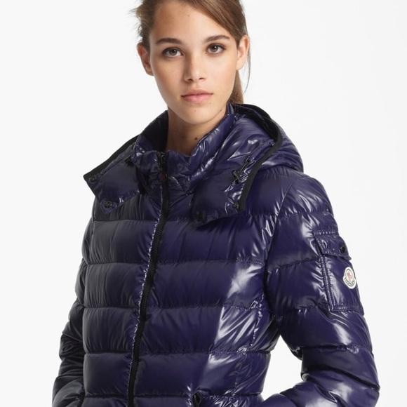 moncler jackets coats navy bady down jacket poshmark